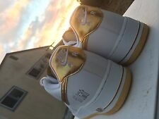 2007 Nike Air Force 1 '07 ALL-STAR PLAYERS WHITE METALLIC GOLD 10.5 (315092-171)