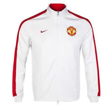 Nike 2014/15 Manchester United Mens Authentic N98 Track Jacket White NWT