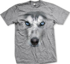 Huskie Wolf Coyote 3D Dog Canine Snow Fierce FREE SHIPPING New Mens T-shirt