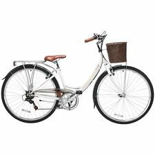 Viking Richmond Ladies' Classic Heritage Hybrid Bike, Basket, Luggage Rack, 700C
