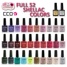 CCO PROFESSIONAL 14 Day Wear Premium UV Led Nail Gel Polish for Shellac Nails