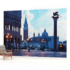 Venice Piazza San Marco Evening Photo Wallpaper Wall Mural (CN-338VE)