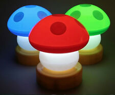LED Mushroom Press Down Touch Lamp Night Bed Room lamp lights