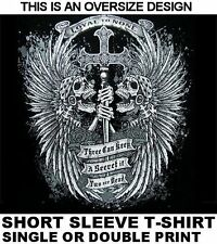 THREE CAN KEEP A SECRET IF TWO ARE DEAD LOYAL TO NONE PIRATE SKULL T-SHIRT 129