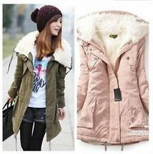 2014 Big sale! Korean woman warm cotton zip coat jacket lamb wool 6 colour