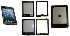 NEWEST WATERPROOF CASE FOR IPAD 2 3 4 DIRTPROOF W/ CLEAR BACK NAKED
