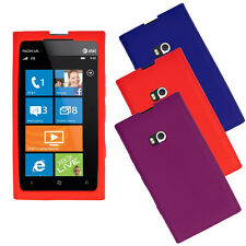 Shock Proof Silicone Skin Case Soft Cover Shield Protector for Nokia Lumia 900