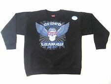 NWT BOYS Pullover HANES Sweatshirt BIKE SHOW Motorcycle SUPER CHARGED Sz: S M L