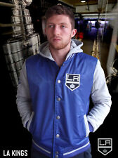 Los Angeles Kings NHL Playoff Hooded Fabric Mix Jacket over 50% off the RRP!