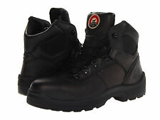 "RED WING Mens Irish Setter 6"" Steel Toe Hiking Boots Black Leather 83612"