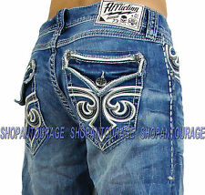 Affliction Blake Fleur Baldwin 110RS117 Men`s Relaxed Straight Denim
