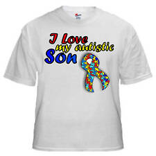 I Love My Autistic ____ (Personalize!) - Autism T Shirt