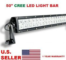 6K LED 50 inch LED Light Bar Off Road with Wiring Harness & Switch Combo Beam