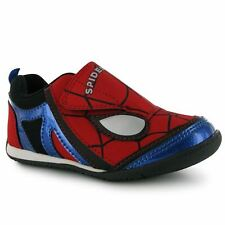 Spiderman Kids Infants Basic Hook Loop Tape Fasteners Trainers Sports Shoes