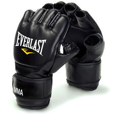 Everlast MMA Grappling Training Punch Fight Gloves - Wrist Strap