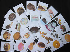 Cakes Photo Flash Card-PECS/Autism/Schedule/Teaching English/Loss of Speech