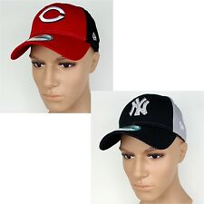 New Era Baseball Cap 9Forty Split Team MLB - NY Yankees, Boston Sox, Cincinnati
