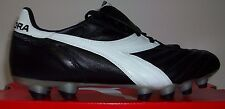 Diadora Brasil Elite MD PU Men's Soccer Cleats Black/White EUR Size 40.5