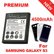 4500mAh Extended Replacement Back Cover Case For Samsung Galaxy S3 Battery i9300