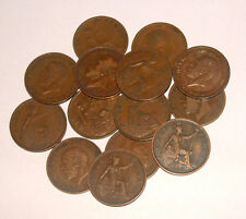Great Britain 1911 - 1936 - George V Bronze Half-Pennies - Select the Date