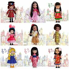 "Disney Store 16"" It's A Small World Singing Dolls- CHOOSE YOUR COUNTRY - NIB"