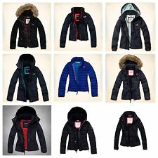 Hollister and Abercrombie & Fitch All weather Jacket Parka Puffer Coats