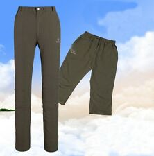 Womens Outdoor Quick Dry  Detachable Casual Pants Fishing Hiking Trousers 3032