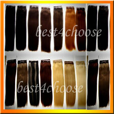 US Clip In Remy 100% Real Human Hair Extensions Silky Full Head 70-100g ON SALE