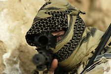 TACTICAL Army Military Hijab SPECIAL FORCES Keffiyeh Shemagh ARAB Scarf Wrap SAS