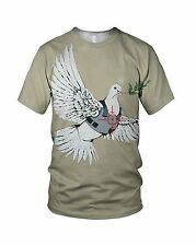 Banksy Dove Of Peace Men's And Ladies Fashion T Shirts