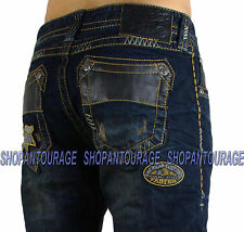 Affliction Ace Avenge Knoxville 110SS064 Men`s Slim Straight Denim