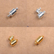10Sets Silver & Gold Plated, Podetium Powerful Magnet Clasps Jewelry Making 14MM