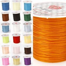 1Roll of 10m Strong Elastic Stretchy Cord Crystal Cord String Thread 1mm