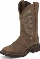 Justin Gypsy Women's Western Boots Square Toe Aged Bark Leather Medium L9984