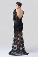 NWT Vintage Masquerade Prom Evening Formal Cocktail Party Celeb Pinup Wrap Dress