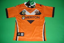 Wests Tigers 2014 Junior Away Jersey Sizes 6 - 14 Kids NRL BLADES SALE