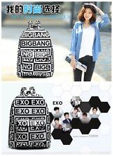 2014 NEW EXO LUHAN BIGBANG GD GARDON school bag unisex backpack Kpop