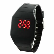 Women's Watches Men's Watch Thin LED Touch Screen Case Silicon Wristwatches