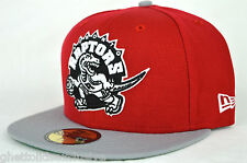 *NEW* Toronto Raptor Red & Grey New Era 59fifty Fitted Cap
