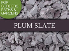 PLUM SLATE 20mm or 40mm - Bulk Bag from £85 - Decorative Garden Stone Aggregate