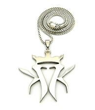 """NEW KOTTONMOUTH KINGS PENDANT 2mm/24"""" OR 30"""" BOX CHAIN HIP HOP NECKLACE RC507BX"""