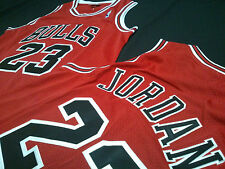 Michael Jordan Basketball Double stitched jersey Red size S, M or L