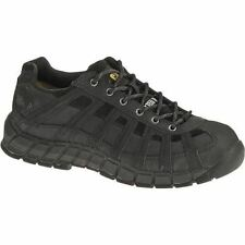 Caterpillar SWITCH ST STEEL TOE Mens Black Lace Up Work Safety Oxford Shoes