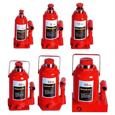 Hydraulic Bottle Jack Car 4 8 10 20 32 50 Ton Truck Caravan SUV 4WD Ute Manual