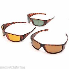 Free shipping Tortoise Frame Fly Fishing Polarized sunglasses 3 colors