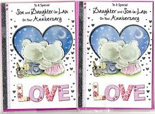 Daughter and Son In Law/Son and Daughter In Law Anniversary Card