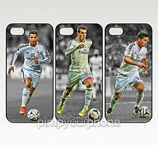 Ronaldo Bale Rodriguez Real Madrid - iPhone 4 4S 5 5S 5C 6 Hard Cover Case