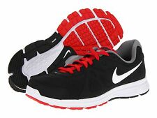 NEW! MENS NIKE REVOLUTION 2 BLACK WHITE RED RUNNING TRAINING SHOES 4E WIDE SIZE