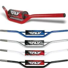 "FLY RACING 1010 CARBON STEEL 7/8"" STANDARD MOTORCYCLE HANDLEBARS DIRTBIKE ATV"