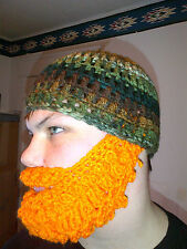 Beard Hat Hunting Detachable Facemask 1-size Cammo New Handmade Hunting Beanie